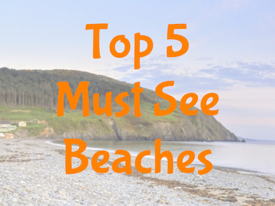 top 5 must see beaches
