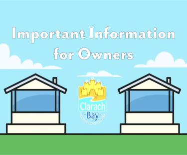 Important Information for owners