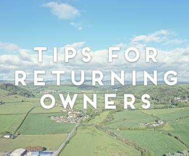 Tips for returning for your caravan